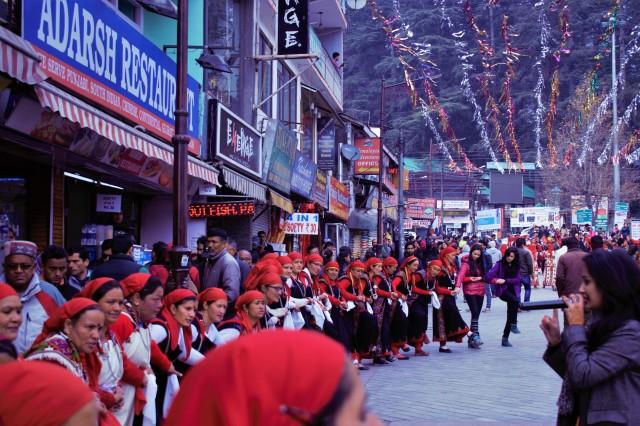 Traditional Himachali Dance, Manali, Himachal Pradesh