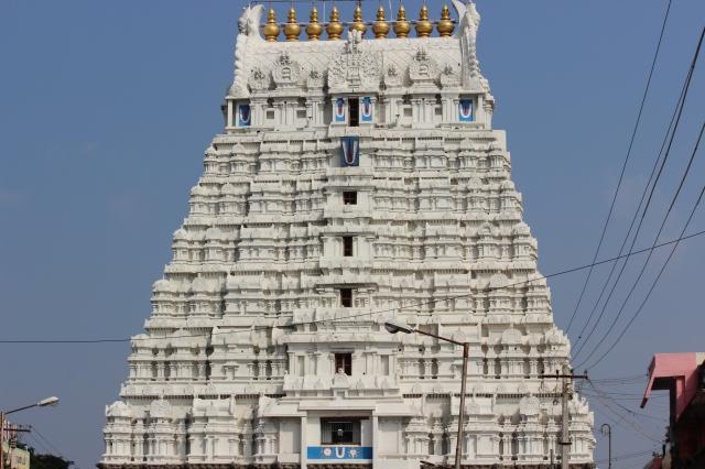 A Temple in Kanchipuram, Tamilnadu