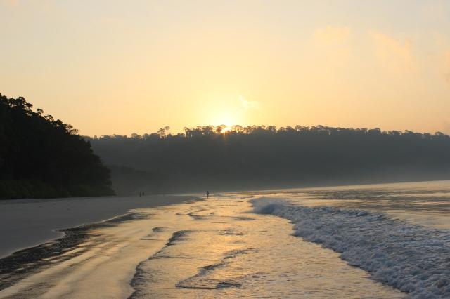 Sunrise at Radhanagar Beach, Havelock Island