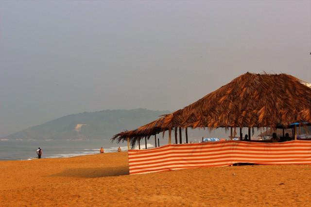 A beach shack, Goa