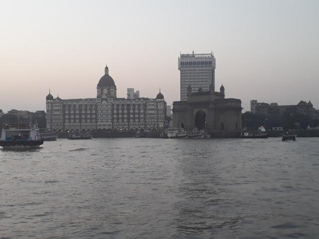 The Gateway of India and The Taj Mahal Palace Hotel, Mumbai