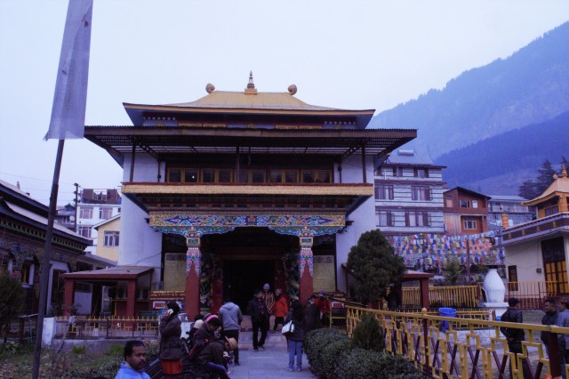 Tibetan Monastery, Manali, Himachal Pradesh