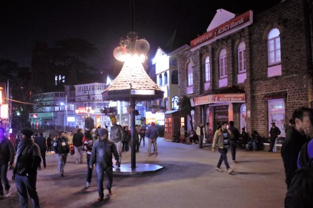 Mall Road, Shimla, Himachal Pradesh